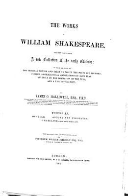Othello  Antony And Cleopatra  Cymbeline    The First Three Acts