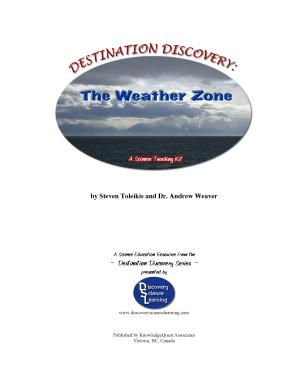 Destination Discovery   the Weather Zone   a Science Teaching Kit PDF