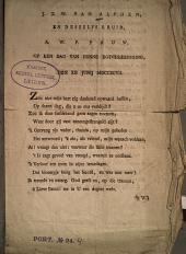 Aan mijnen Zoon, J. T. W. van Alphen, en deszelfs Bruid, A. W. P. Pauw, op den dag van hunne Egtvereeniging, den XII Junij MDCCXCVII.