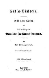 Aus dem Leben der Galla-Negerin Pauline Johanne Fathme