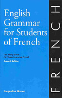 English Grammar for Students of French PDF