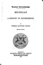 Michigan: A History of Governments