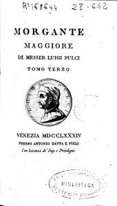 Morgante maggiore: Volume 2