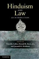 Hinduism and Law PDF