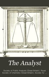 The Analyst: Volume 1