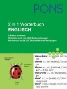 PONS 2 in 1 Wörterbuch Englisch