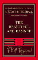 Fitzgerald  The Beautiful and Damned Book