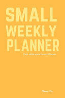 Pooh Small Weekly Planner