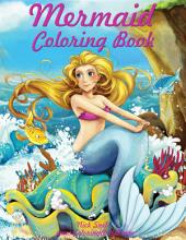 Mermaid Coloring Book 1