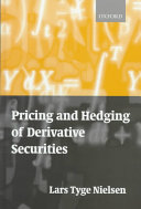 Pricing and Hedging of Derivative Securities PDF