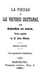 La piedad y las virtudes cristianas