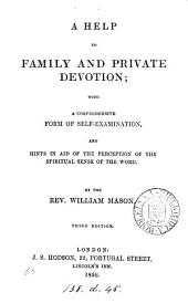 A help to family and private devotion