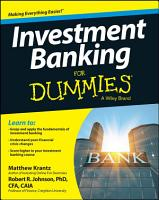 Investment Banking For Dummies PDF