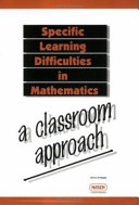 Specific Learning Difficulties in Mathematics