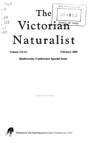 The Victorian Naturalist PDF