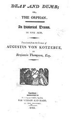 The German Theatre  Translated by Benjamin Thompson  Esq  in Six Volumes  Dedicated  by Permission     PDF