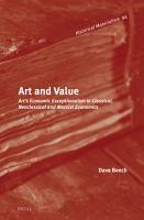 Art and Value PDF