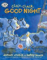 Click  Clack  Good Night PDF