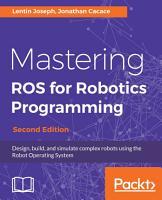 Mastering ROS for Robotics Programming PDF