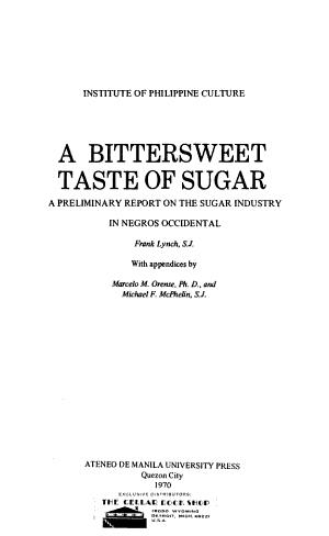 A Bittersweet Taste of Sugar PDF