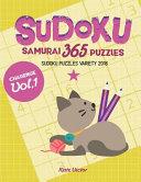 Sudoku Samurai 365 Puzzles Challenge Vol.1: Sudoku Puzzles Variety 2018