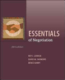 Essentials of Negotiation PDF