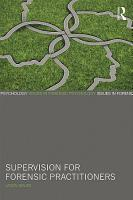 Supervision for Forensic Practitioners PDF