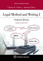 Legal Method and Writing I PDF