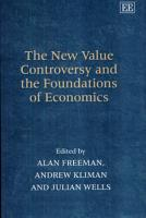 The New Value Controversy and the Foundations of Economics PDF