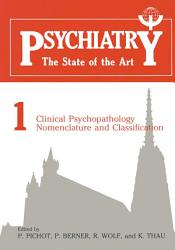 Clinical Psychopathology Nomenclature And Classification Book PDF