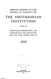 Annual Report of the Board of Regents of the Smithsonian Institution: Volume 68