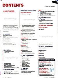 Chemical Week PDF