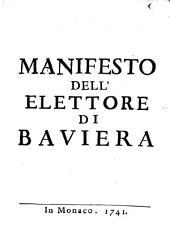 Manifesto dell'elettore di Baviera