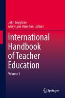International Handbook of Teacher Education PDF