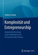 Komplexit  t und Entrepreneurship PDF