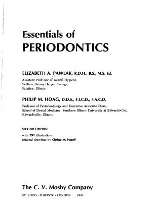Essentials of Periodontics PDF