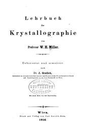 Lehrbuch der Krystallographie: Band 2