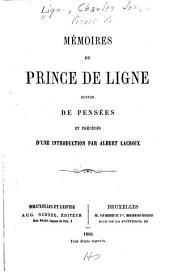 Mémoires: du prince de Ligne