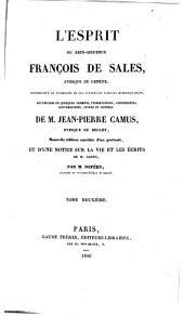 L'esprit de François de Sales: Volume2