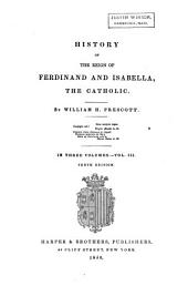 History of the Reign of Ferdinand and Isabella the Catholic ...