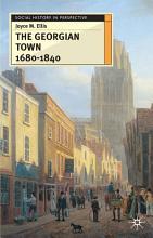 The Georgian Town 1680 1840 PDF
