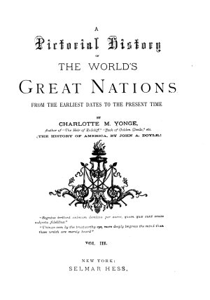 A Pictorial History of the World s Great Nations PDF