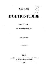 Mémoires d'outre-tombe: Volume9
