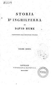 Storia d'Inghilterra di David Hume: Volume 5