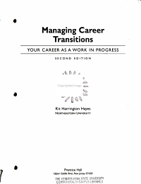 Managing Career Transitions PDF