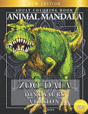 Zoo Dala Dinosaurs Version Vol 31  Animal Mandala  Adult Coloring Book PDF