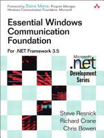 Essential Windows Communication Foundation  WCF  PDF