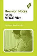 Revision Notes for the MRCS Viva PDF