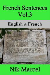 French Sentences Vol.3: English & French