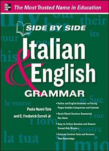 Side by Side Italian and English Grammar PDF